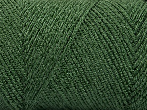 Fiber Content 50% Wool, 50% Acrylic, Khaki, Brand ICE, Yarn Thickness 3 Light  DK, Light, Worsted, fnt2-56431