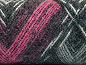 Fiber Content 50% Wool, 50% Acrylic, Pink, Brand ICE, Grey Shades, Yarn Thickness 3 Light  DK, Light, Worsted, fnt2-56445