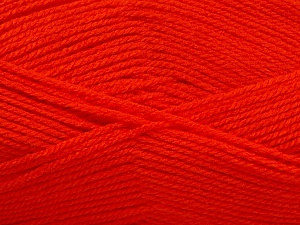 Fiber Content 100% Acrylic, Brand ICE, Dark Orange, Yarn Thickness 3 Light  DK, Light, Worsted, fnt2-56564