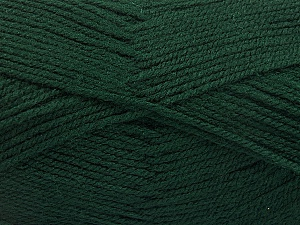 Fiber Content 100% Acrylic, Brand ICE, Dark Green, Yarn Thickness 3 Light  DK, Light, Worsted, fnt2-56569