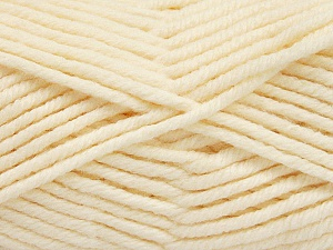 Fiber Content 80% Acrylic, 20% Polyamide, Brand ICE, Cream, Yarn Thickness 5 Bulky  Chunky, Craft, Rug, fnt2-56583