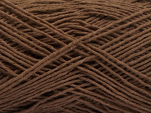 Fiber Content 100% Cotton, Brand ICE, Brown, Yarn Thickness 2 Fine  Sport, Baby, fnt2-56712