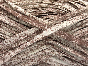 Fiber Content 100% Cotton, White, Brand ICE, Brown, Yarn Thickness 5 Bulky  Chunky, Craft, Rug, fnt2-56780