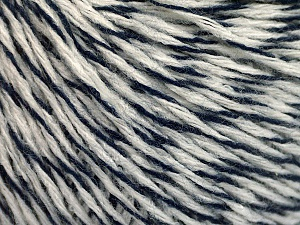 Fiber Content 60% Acrylic, 40% Wool, White, Navy, Brand ICE, fnt2-56828