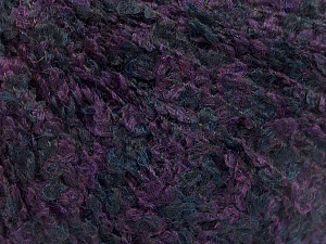 Fiber Content 90% Acrylic, 10% Polyamide, Purple, Brand ICE, Dark Navy, Yarn Thickness 3 Light  DK, Light, Worsted, fnt2-56850
