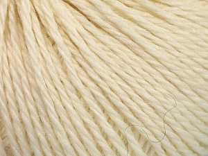 Fiber Content 50% Wool, 30% Acrylic, 20% Alpaca, Brand ICE, Cream, Yarn Thickness 4 Medium  Worsted, Afghan, Aran, fnt2-56976