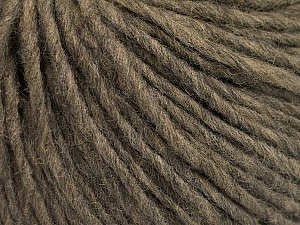 Fiber Content 50% Acrylic, 50% Wool, Brand ICE, Dark Camel, Yarn Thickness 4 Medium  Worsted, Afghan, Aran, fnt2-57007
