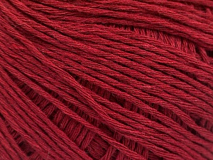 Fiber Content 100% Cotton, Brand ICE, Burgundy, Yarn Thickness 1 SuperFine  Sock, Fingering, Baby, fnt2-57154