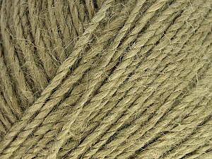 Fiber Content 100% Hemp Yarn, Light Khaki, Brand ICE, Yarn Thickness 3 Light  DK, Light, Worsted, fnt2-57168