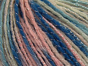 Fiber Content 55% Acrylic, 30% Wool, 15% Polyamide, Pink Shades, Brand ICE, Blue Shades, fnt2-57190