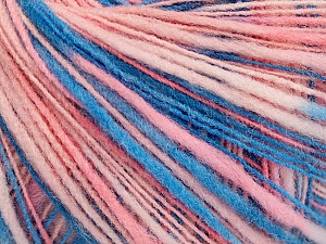 Fiber Content 100% Acrylic, Pink Shades, Brand ICE, Blue Shades, fnt2-57239