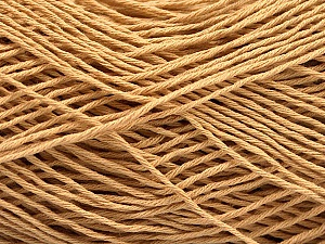 Fiber Content 100% Cotton, Brand ICE, Cafe Latte, Yarn Thickness 2 Fine  Sport, Baby, fnt2-57297