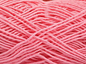 Fiber Content 100% Cotton, Pink, Brand ICE, Yarn Thickness 2 Fine  Sport, Baby, fnt2-57328