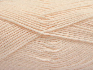 Fiber Content 80% Acrylic, 20% Polyamide, Light Salmon, Brand ICE, Yarn Thickness 3 Light  DK, Light, Worsted, fnt2-57384