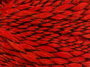 Fiber Content 90% Acrylic, 10% Polyamide, Red, Brand ICE, Black, Yarn Thickness 3 Light  DK, Light, Worsted, fnt2-57446