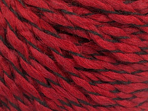 Fiber Content 100% Acrylic, Brand ICE, Dark Red, Yarn Thickness 3 Light  DK, Light, Worsted, fnt2-57537