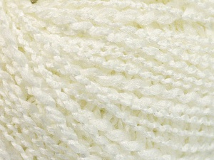 Fiber Content 90% Acrylic, 10% Polyamide, White, Brand ICE, Yarn Thickness 2 Fine  Sport, Baby, fnt2-57594