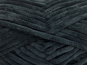 Fiber Content 100% Micro Fiber, Brand ICE, Black, Yarn Thickness 4 Medium  Worsted, Afghan, Aran, fnt2-57617