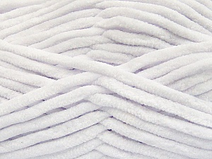 Fiber Content 100% Micro Fiber, White, Brand ICE, Yarn Thickness 4 Medium  Worsted, Afghan, Aran, fnt2-57621