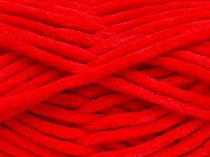 Fiber Content 100% Micro Fiber, Red, Brand ICE, Yarn Thickness 4 Medium  Worsted, Afghan, Aran, fnt2-57627