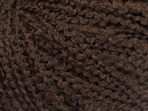 Fiber Content 90% Acrylic, 10% Polyamide, Brand ICE, Coffee Brown, fnt2-57722