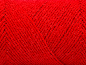 Fiber Content 50% Wool, 50% Acrylic, Red, Brand ICE, fnt2-57736