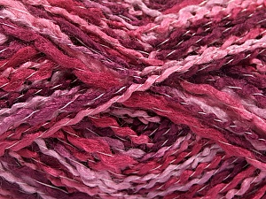 Fiber Content 90% Acrylic, 10% Polyamide, Pink, Orchid, Maroon, Lilac, Brand ICE, fnt2-57835
