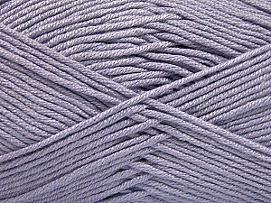 Fiber Content 50% Acrylic, 50% Bamboo, Light Lilac, Brand ICE, Yarn Thickness 2 Fine  Sport, Baby, fnt2-57843
