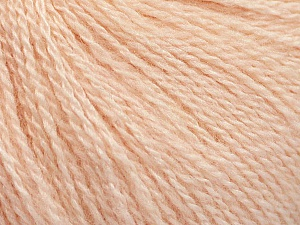 Fiber Content 65% Merino Wool, 35% Silk, Light Salmon, Brand ICE, fnt2-57860