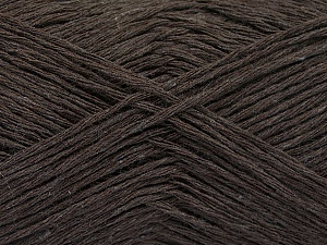 Fiber Content 50% Acrylic, 50% Cotton, Brand ICE, Dark Brown, fnt2-57913