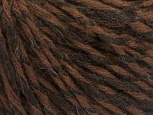 Fiber Content 50% Acrylic, 50% Wool, Brand ICE, Brown Shades, fnt2-57991