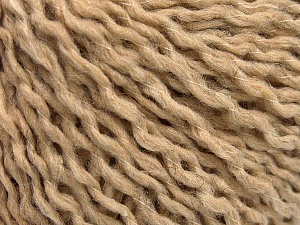 Fiber Content 7% Polyamide, 50% Acrylic, 43% Wool, Brand ICE, Beige, fnt2-58052