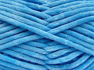 Fiber Content 100% Micro Fiber, Light Blue, Brand ICE, Yarn Thickness 4 Medium  Worsted, Afghan, Aran, fnt2-58167