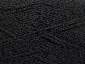 Fiberinnhold 100% Superwash Wool, Brand ICE, Black, fnt2-58180