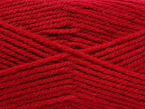 Fiber Content 50% Wool, 50% Acrylic, Brand ICE, Dark Fuchsia, Yarn Thickness 4 Medium  Worsted, Afghan, Aran, fnt2-58184