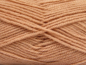 Fiber Content 50% Acrylic, 50% Wool, Light Salmon, Brand ICE, fnt2-58189