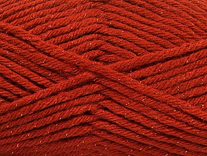 Fiber Content 72% Premium Acrylic, 3% Metallic Lurex, 25% Wool, Brand ICE, Copper, Yarn Thickness 5 Bulky  Chunky, Craft, Rug, fnt2-58201