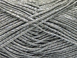 Fiber Content 60% Cotton, 20% Acrylic, 20% Polyamide, Silver, Brand ICE, fnt2-58268