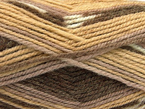 Fiber Content 50% Wool, 50% Acrylic, Brand ICE, Brown Shades, fnt2-58276