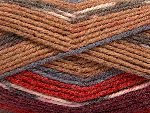 Fiber Content 50% Acrylic, 50% Wool, Red, Brand ICE, Grey, Camel, Burgundy, fnt2-58282