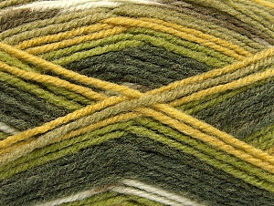 Fiber Content 50% Acrylic, 50% Wool, Brand ICE, Green Shades, fnt2-58286