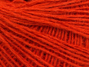 Fiber Content 50% Wool, 50% Acrylic, Orange, Brand ICE, fnt2-58303