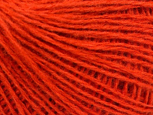 Fiber Content 50% Wool, 50% Acrylic, Brand ICE, Dark Orange, fnt2-58304