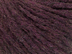 Fiber Content 50% Wool, 50% Acrylic, Maroon, Brand ICE, Yarn Thickness 4 Medium  Worsted, Afghan, Aran, fnt2-58322