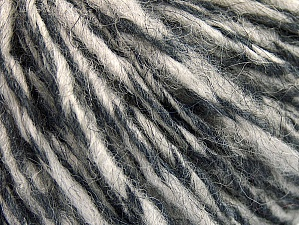 Fiber Content 70% Wool, 30% Acrylic, Brand ICE, Grey Shades, fnt2-58349