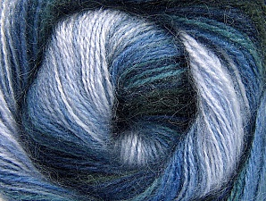 Fiber Content 50% Mohair, 50% Acrylic, Navy, Lilac Shades, Brand ICE, Blue Shades, fnt2-58362