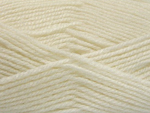 Fiber Content 50% Acrylic, 50% Wool, White, Brand ICE, Yarn Thickness 4 Medium  Worsted, Afghan, Aran, fnt2-58367