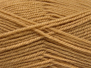 Fiber Content 50% Wool, 50% Acrylic, Brand ICE, Cafe Latte, Yarn Thickness 4 Medium  Worsted, Afghan, Aran, fnt2-58370