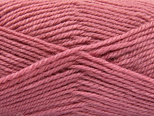 Fiber Content 50% Wool, 50% Acrylic, Orchid, Brand ICE, Yarn Thickness 4 Medium  Worsted, Afghan, Aran, fnt2-58380