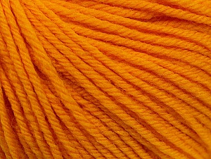 SUPERWASH WOOL is a DK weight 100% superwash wool yarn. Perfect stitch definition, and a soft-but-sturdy finished fabric. Projects knit and crocheted in SUPERWASH WOOL are machine washable! Lay flat to dry. Fiber Content 100% Superwash Wool, Brand ICE, Gold, Yarn Thickness 3 Light  DK, Light, Worsted, fnt2-58386